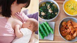Một số lưu ý về chế độ dinh dưỡng của mẹ đang cho con bú