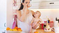 Giảm cân sau sinh- Một số thói quen xấu cần bỏ ngay