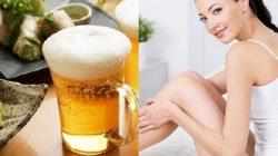 4 cách làm đẹp da bằng bia an toàn
