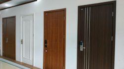 Mẫu mã cửa nhựa giả gỗ Composite