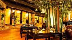 thiết kế nhà hàng ẩm thực miền Bắc mang đậm nét đẹp thôn quên, gần gũi và ấm áp.
