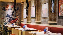 Thiết kế nhà hàng, quán ăn Hàn Quốc cần phải có những lựa chọn độc đáo và mới mẻ từ những nét văn hóa của xứ sở Kim Chi.