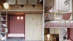 Phòng theo phong cách zen cần tạo được sự hợp nhất giữa ngoài nhà và bên trong nhà.