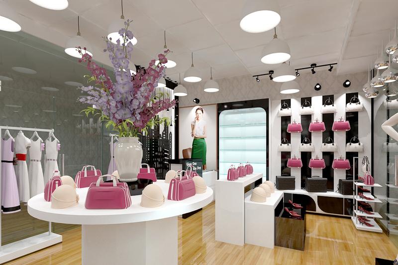 Thiết kế hoàn chỉnh nội thất showroom